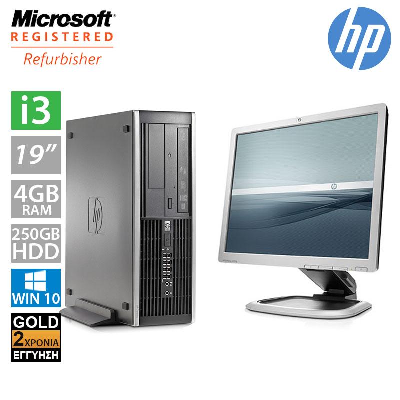 Hp Compaq 6200 Pro SFF (i3 2100/4GB/250GB HDD/Οθόνη 19'')