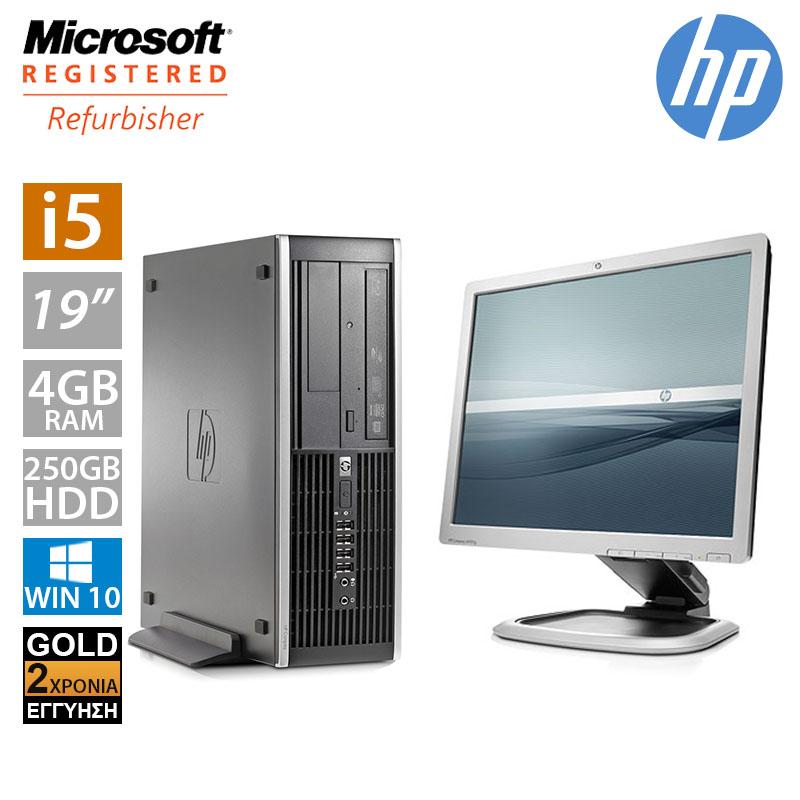 """Hp Compaq 8100 SFF (i5 650/4GB/250GB HDD/Οθόνη 19"""")"""