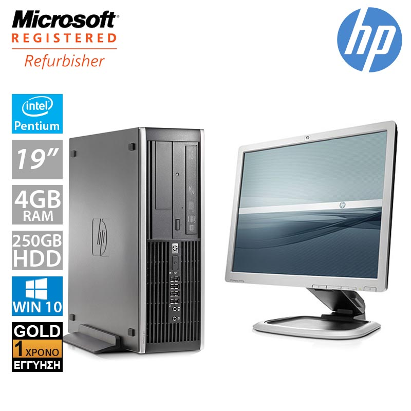 "Hp Compaq 6300 Pro SFF (Intel G550/4GB/250GB HDD/Οθόνη 19"")"
