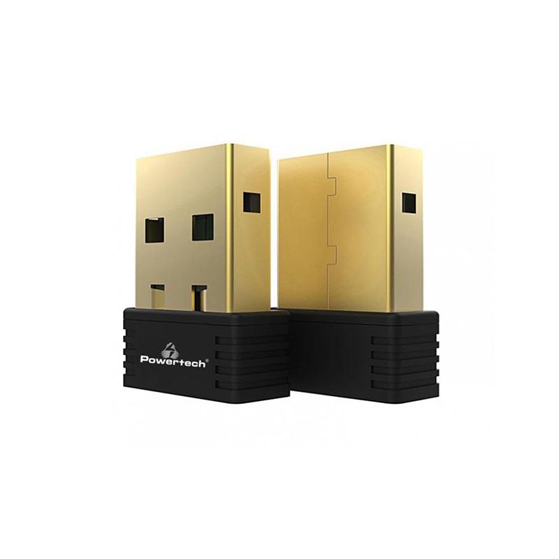 POWERTECH Wireless USB nano adapter, 150Mbps, 2.4GHz, MT7601