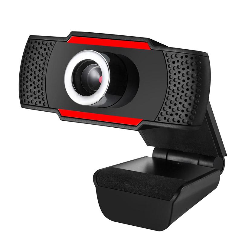 Web κάμερα CAM06, Full HD, μικρόφωνο, μαύρη