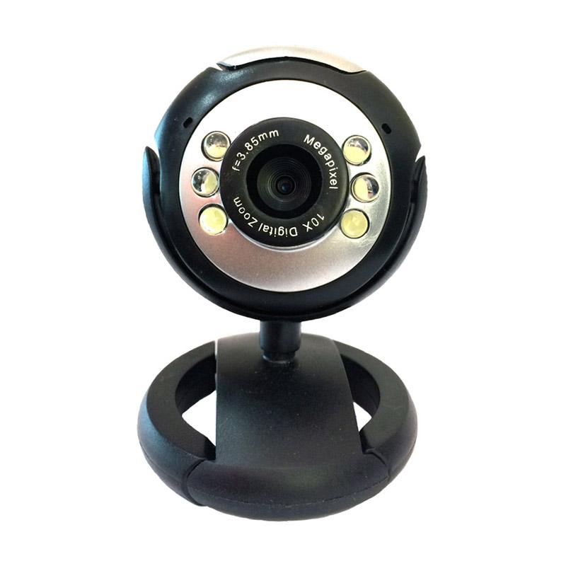 Web Camera 1.3MP, Plug & Play, μαύρη